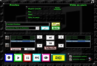 Thème musique logiciel karaoké professionnel karaplayer