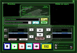 Thème Néon logiciel karaoké professionnel karaplayer